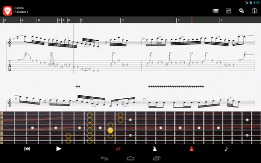 Guitar Pro APK 1 5 8 - download free apk from APKSum