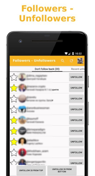 Followers - Unfollowers APK 10 - download free apk from APKSum