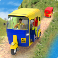 Tuk Tuk City Driving 3D Simulator APK