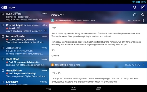 Yahoo Mail APK 5 42 3 - download free apk from APKSum