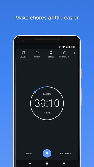 Clock 5.2 apk screenshot