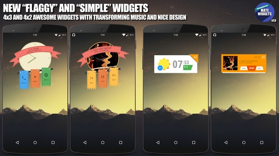 Mate Widgets for ZOOPER APK 1 6 - download free apk from APKSum