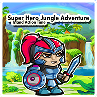 Super Hero Jungle Adventure : Island Action Time APK