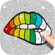 Glitter Number Coloring APK