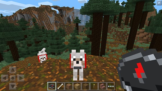 Minecraft Pocket Edition 1272 Apk Screenshot
