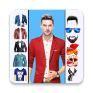 Man Fashion Photo Suit APK