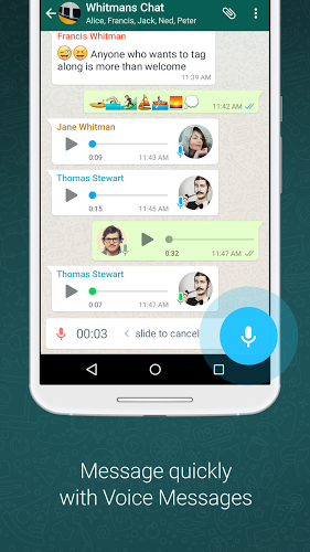 WhatsApp 2.18.92 apk screenshot