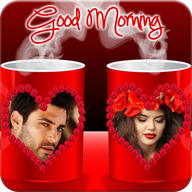 Coffee Cup Dual Photo Frame APK