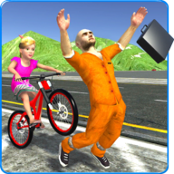 Kids Bicycle Rider Thief Chase APK