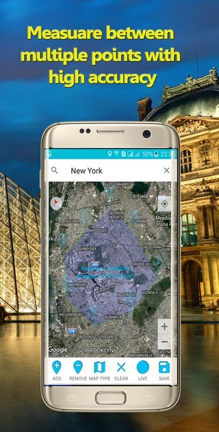Area Calculator For Land APK 0.87 - download free apk from ... on google map chart, google map pointer, google map plotter, google map measurement tool,