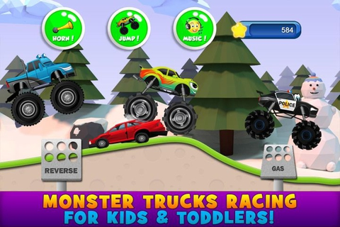 Monster Trucks Kids Game 2.3.4 apk screenshot