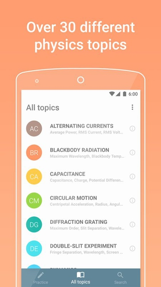 PhyWiz 1.1.3 apk screenshot