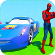 Superhero Color Cars (Supercity sim) APK