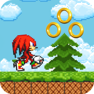 Knuckles Adventure Sonic Runner APK