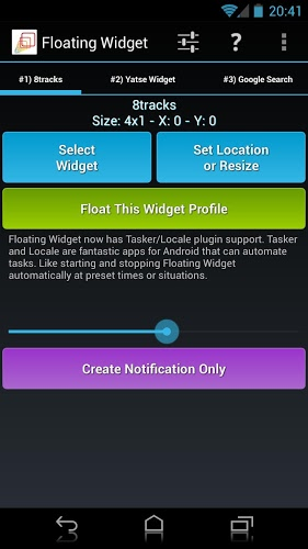 Floating Widget APK 3 1 - download free apk from APKSum