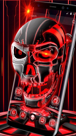 3D Skull Launcher APK 5 64 11 - download free apk from APKSum