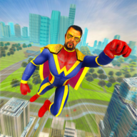 Flying Hero Crime City Theft APK