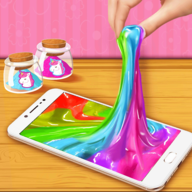 Rainbow Unicorn DIY Slime Making Simulator APK