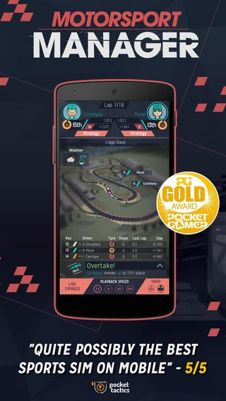 Motorsport Manager 1.1.5 apk screenshot