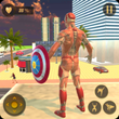 Superhero Captain Robot Flying Newyork City War APK