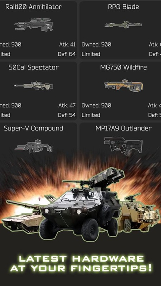 Forces Of War 1.59 apk screenshot
