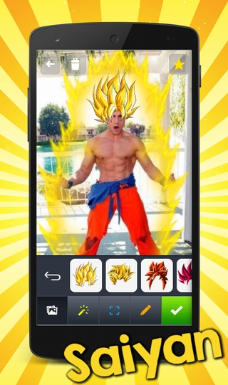Saiyan Camera APK 1 15 0 - download free apk from APKSum