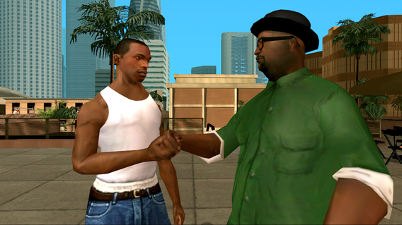 Grand Theft Auto: San Andreas 1.08 apk screenshot