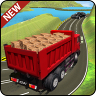 Truck Cargo Driving Hill Simulation APK