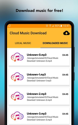 Cloud Music Download APK 1 12 - download free apk from APKSum