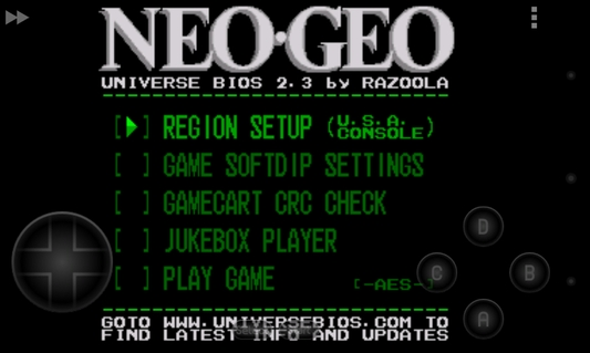NEO.emu 1.5.28 apk screenshot