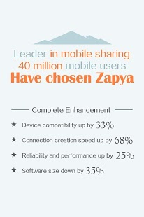 Zapya 5.4 apk screenshot