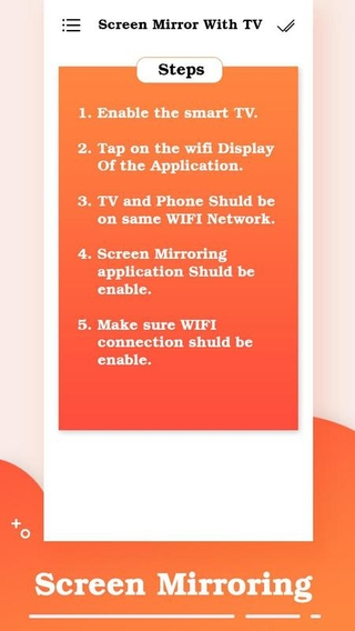 Screen Mirror with TV APK 1 2 - download free apk from APKSum