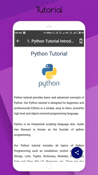 Learn Python APK 1 9 - download free apk from APKSum