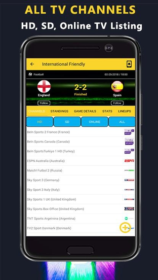 My Live Football TV APK 2 80 - download free apk from APKSum