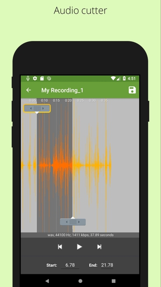 Easy Voice Recorder APK 3 0 4 4 - download free apk from APKSum