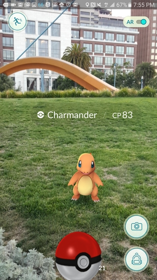 Pokémon GO 0.89.1 apk screenshot