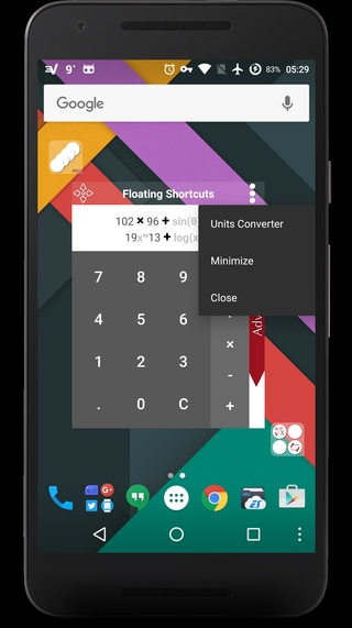 Calculator 1.000.000.32 apk screenshot