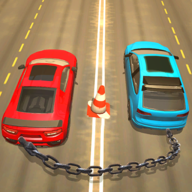 Chained Cars Racing 3D APK