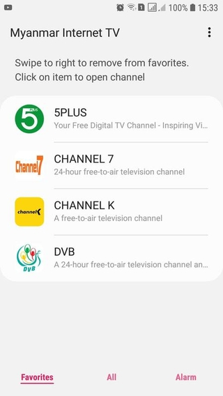 Channel Myanmar Apk
