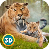 Life of Sabertooth Tiger 3D APK
