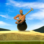 Getting Over it with hammerman APK