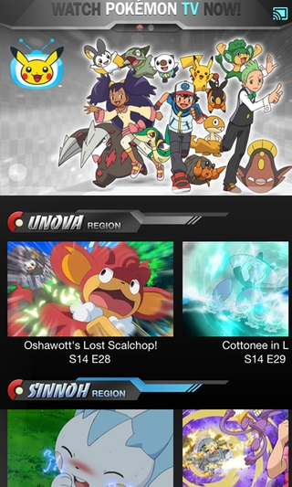 Pokémon TV 2.2.0 apk screenshot