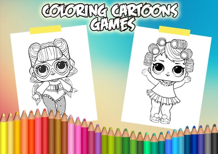 LOL Surprise Dolls Coloring Book 41 Apk Screenshot