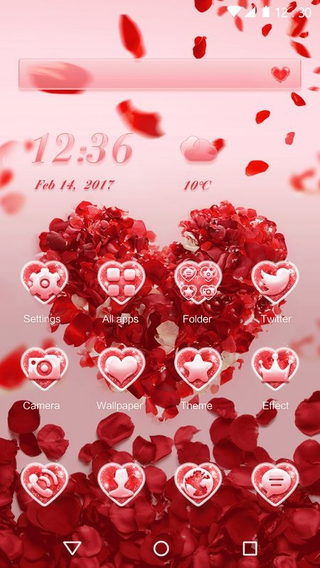 Rose Love Theme APK 1 0 2 - download free apk from APKSum