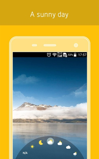 ... Weather Live Wallpaper 1.1 apk screenshot ...