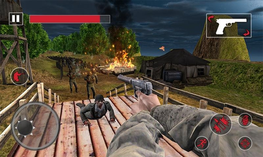 World War 2 Zombie Survival: WW2 Fps Shooting Game APK 1 0 2