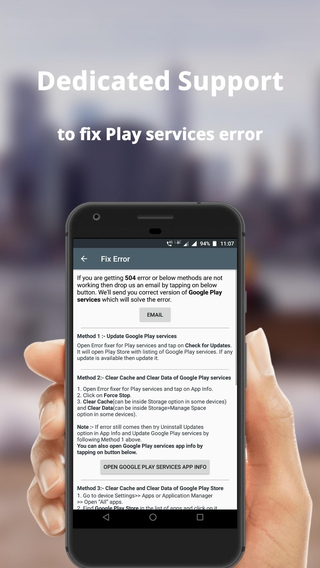 Error fixer for Play services APK 1 8 n - download free apk