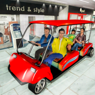 Shopping Mall Radio Taxi: Car Driving Taxi Games APK