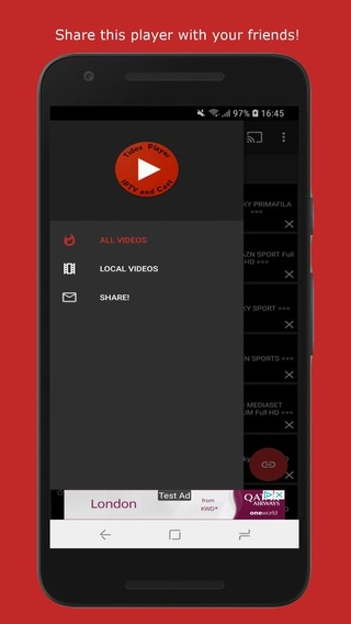Tidox Player IPTV and Cast APK 2 0 0 22 - download free apk from APKSum