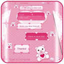 Pink SMS Themes APK